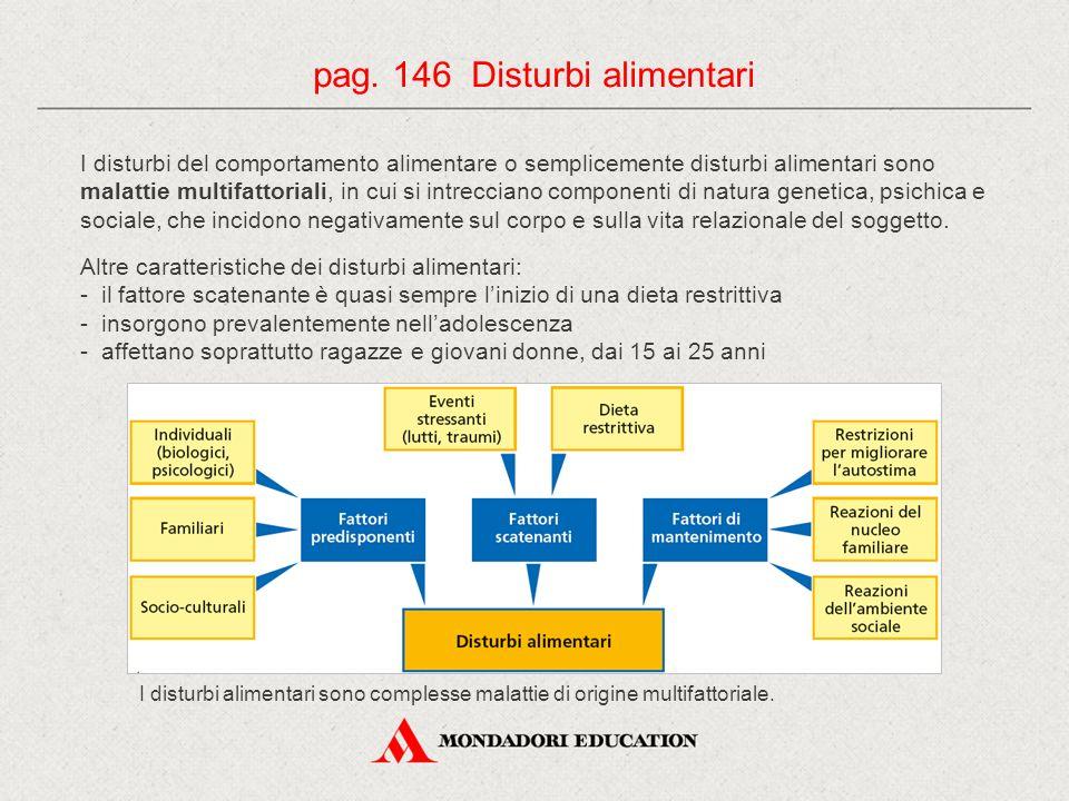 pag. 146 Disturbi alimentari