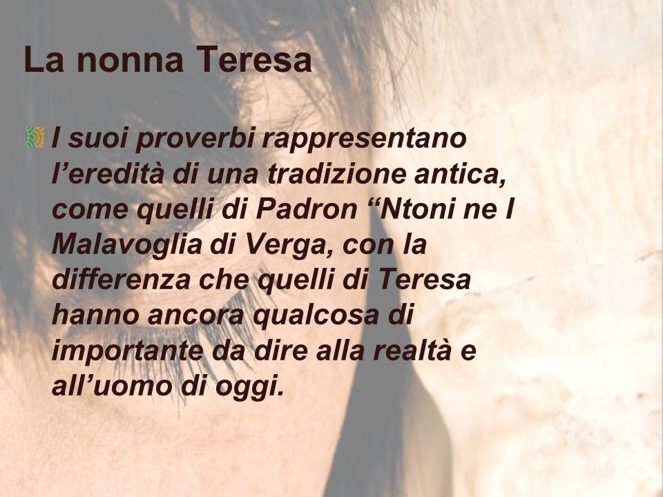 La nonna Teresa