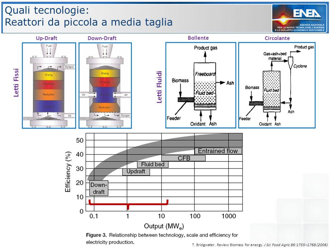 Reattori da piccola a media taglia