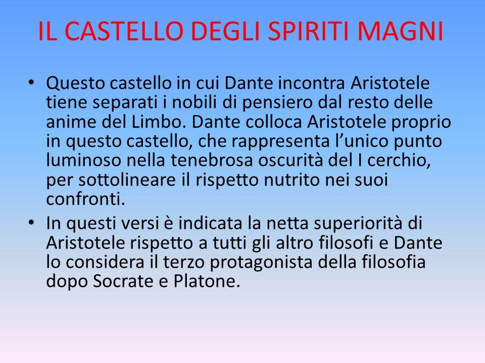 IL CASTELLO DEGLI SPIRITI MAGNI