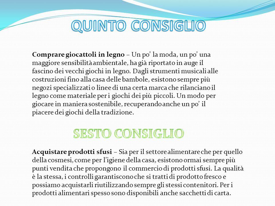 QUINTO CONSIGLIO SESTO CONSIGLIO