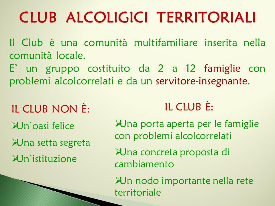 CLUB ALCOLIGICI TERRITORIALI