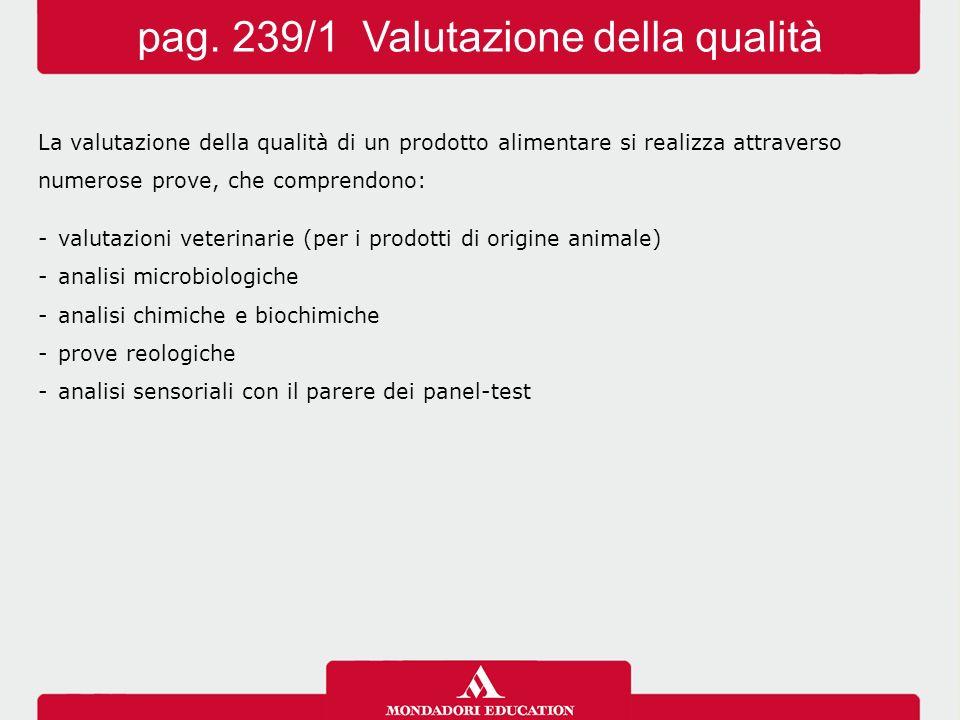 pag. 239/1 Valutazione della qualità