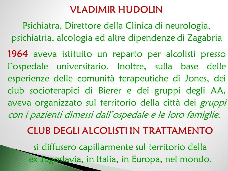 CLUB DEGLI ALCOLISTI IN TRATTAMENTO