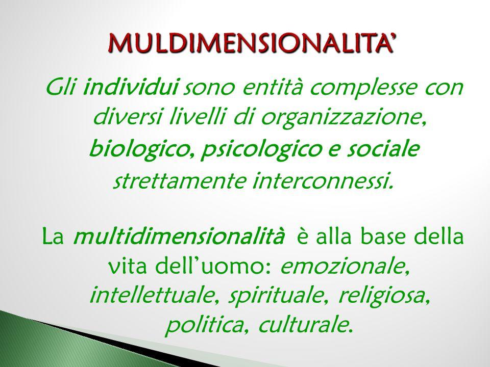 MULDIMENSIONALITA'