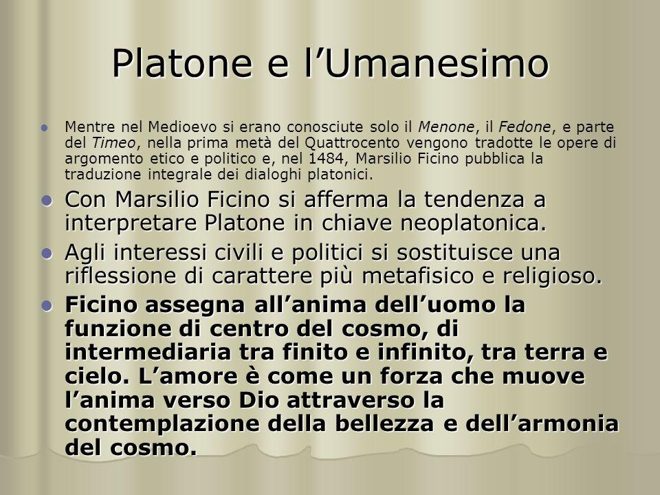 Platone e l'Umanesimo