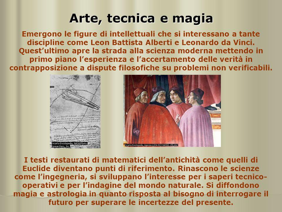 Arte, tecnica e magia