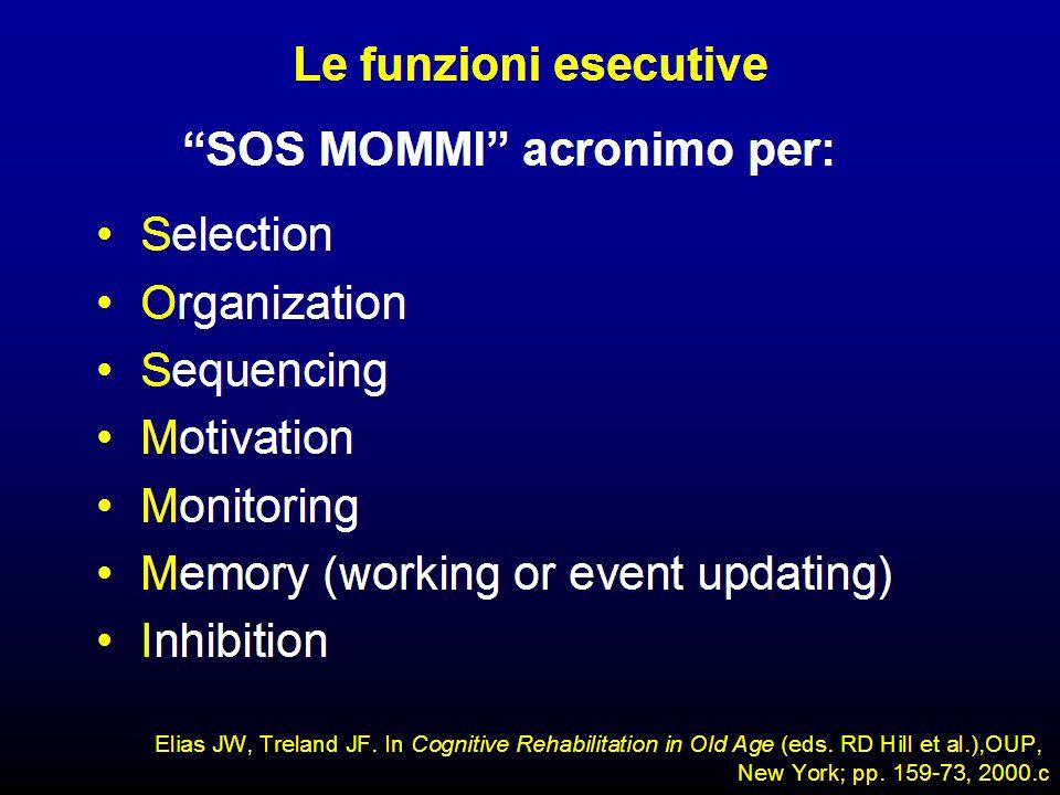 SOS MOMMI è una descrizione metaforica da una prospettiva evolutiva