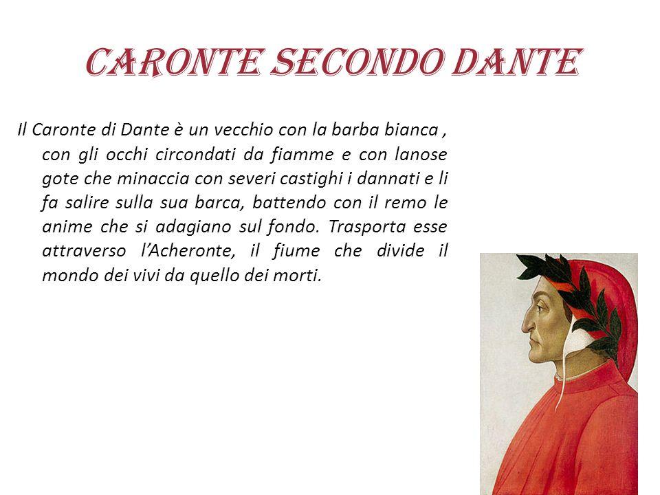 Caronte secondo Dante