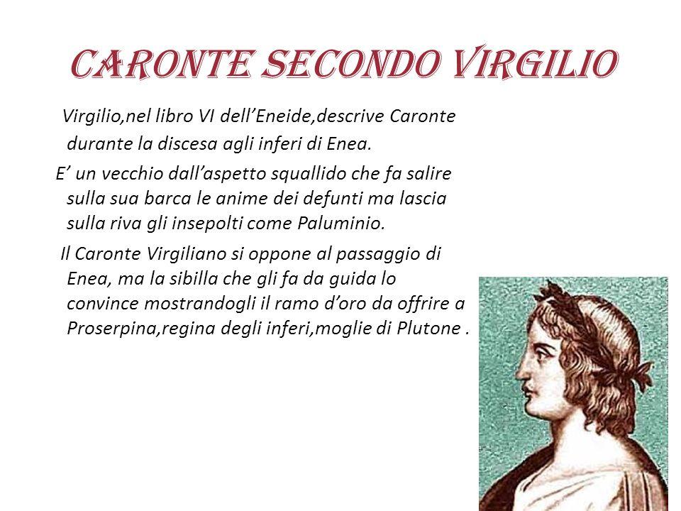 Caronte secondo Virgilio