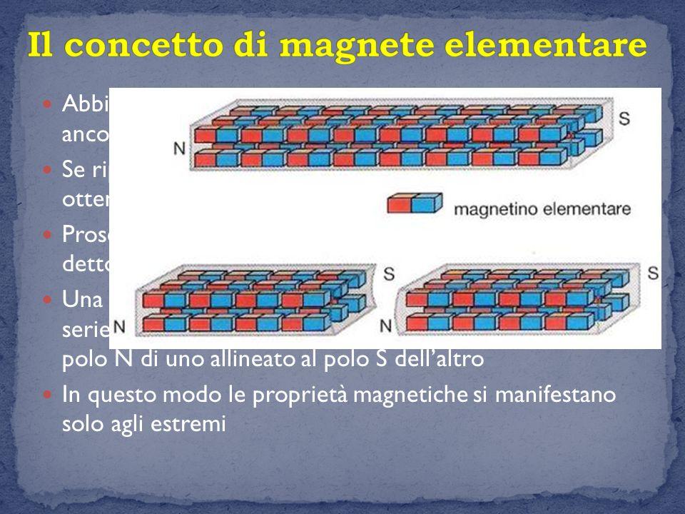 Il concetto di magnete elementare
