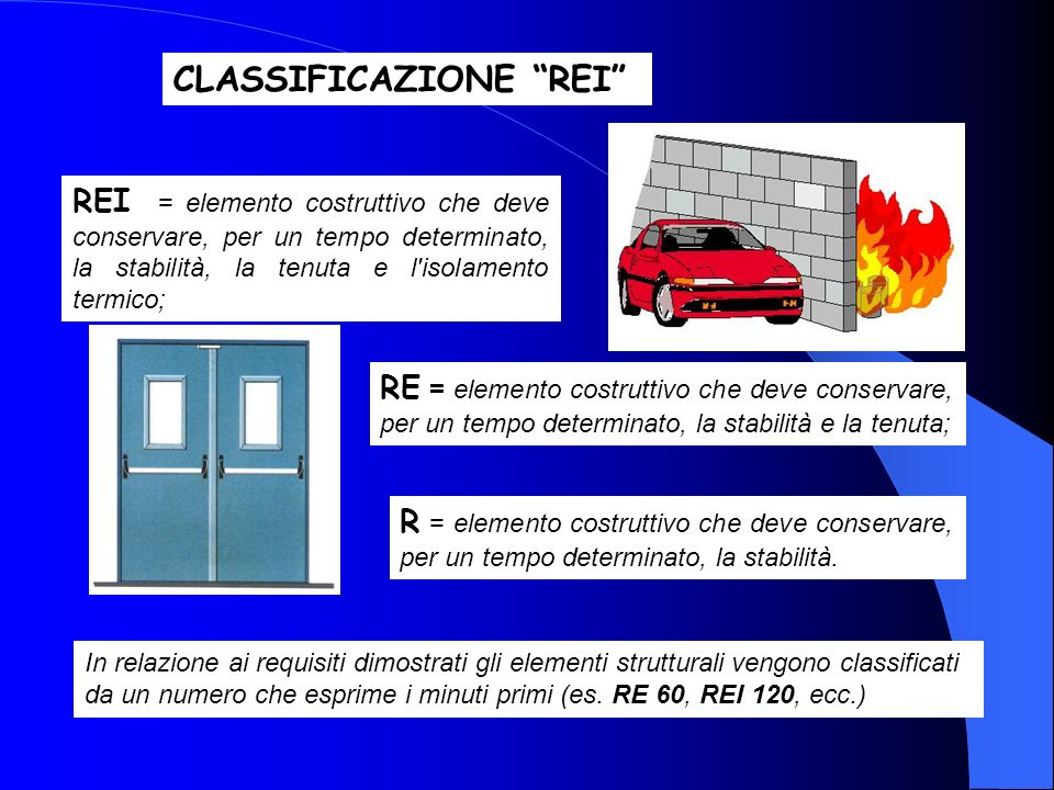 CLASSIFICAZIONE REI