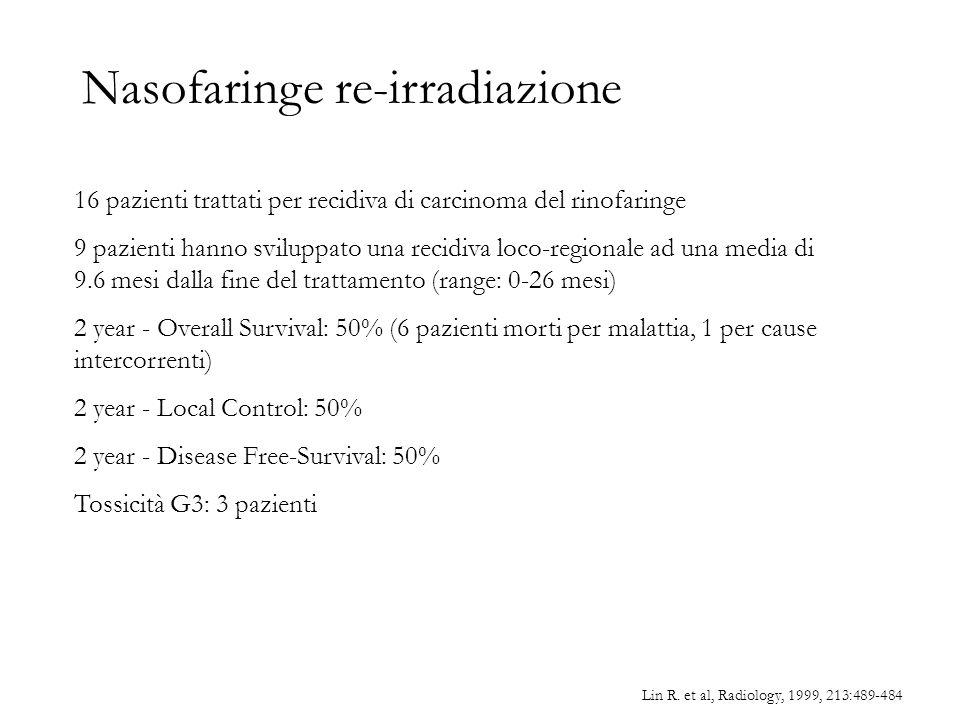 Nasofaringe re-irradiazione