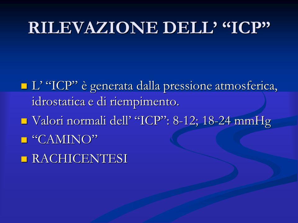 RILEVAZIONE DELL' ICP