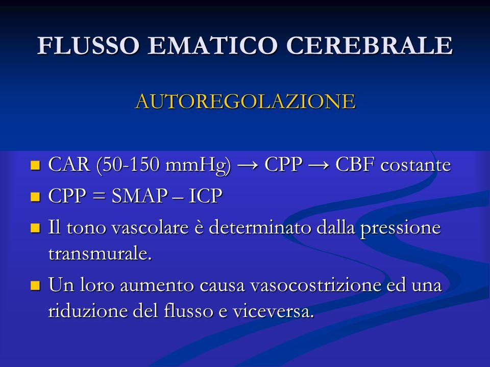 FLUSSO EMATICO CEREBRALE
