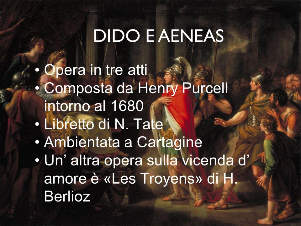 DIDO E AENEAS Opera in tre atti