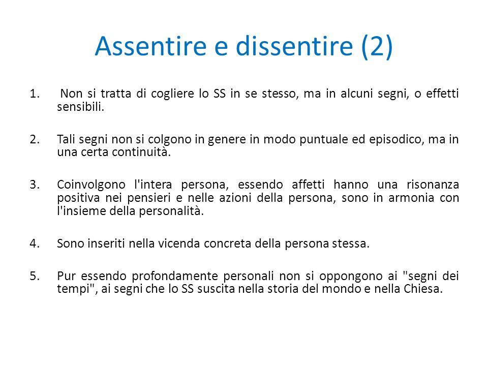 Assentire e dissentire (2)
