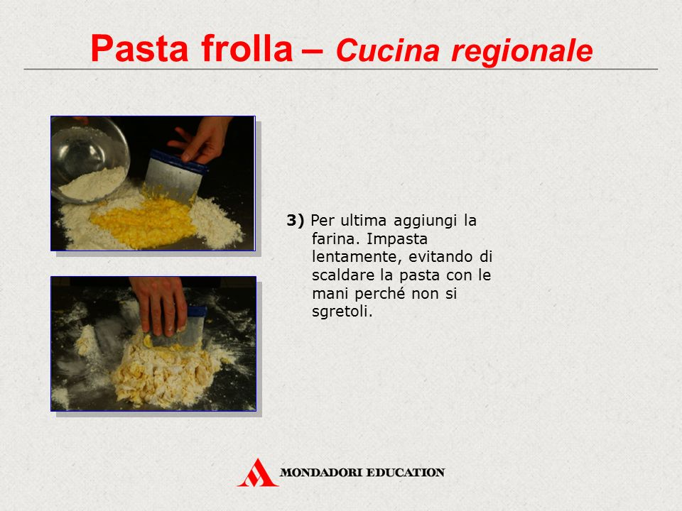 Pasta frolla – Cucina regionale