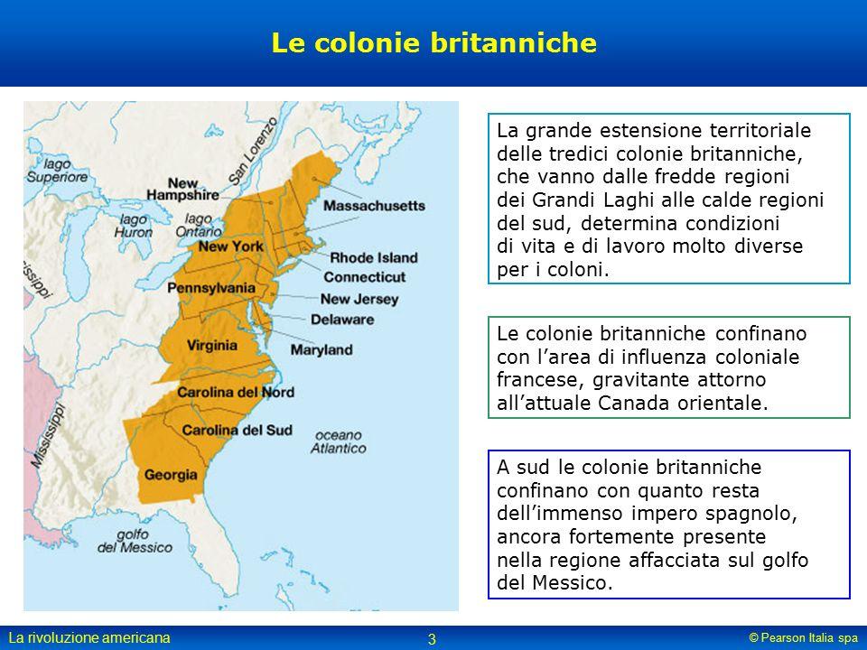 Le colonie britanniche