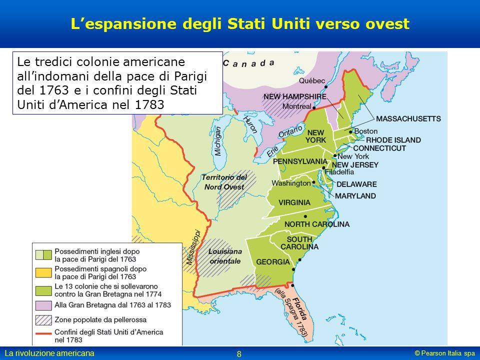 L'espansione degli Stati Uniti verso ovest