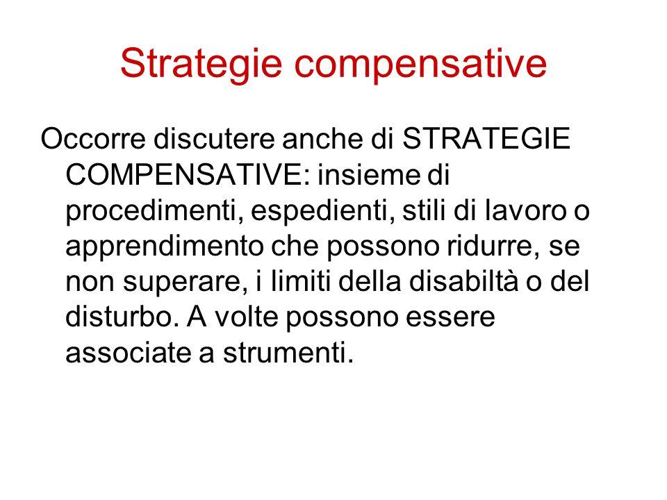 Strategie compensative