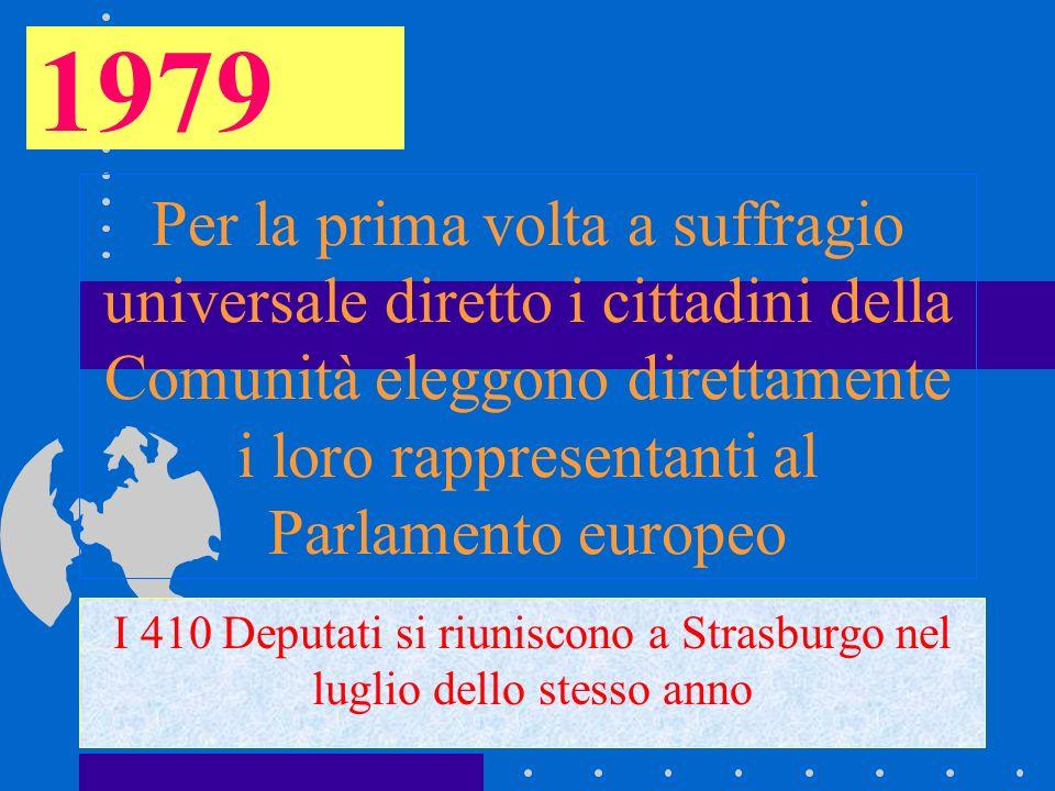 I 410 Deputati si riuniscono a Strasburgo nel luglio dello stesso anno