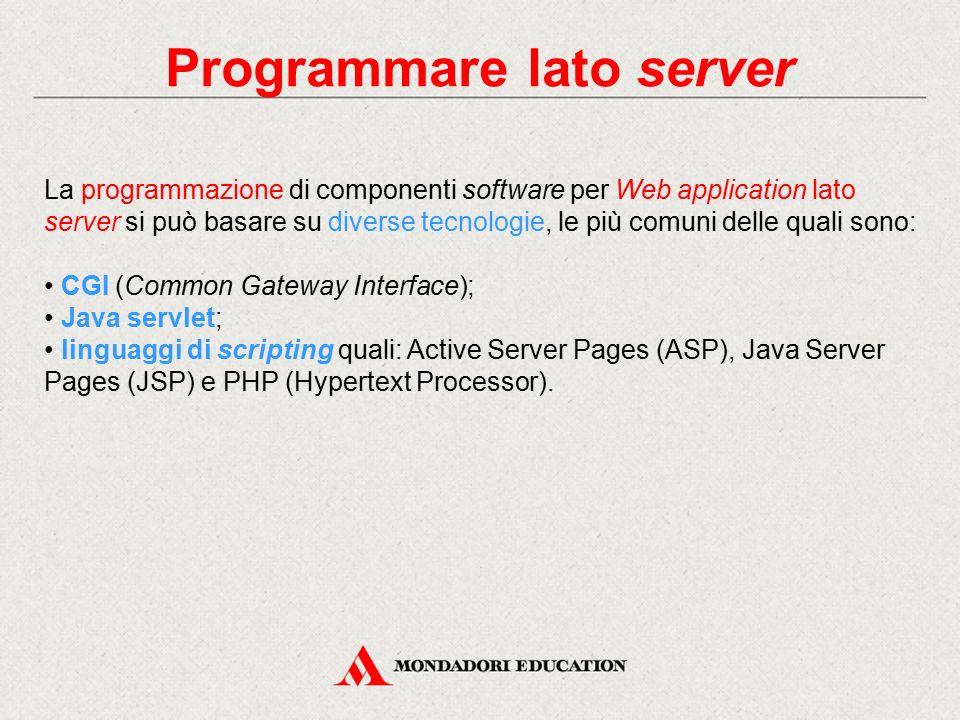 Programmare lato server