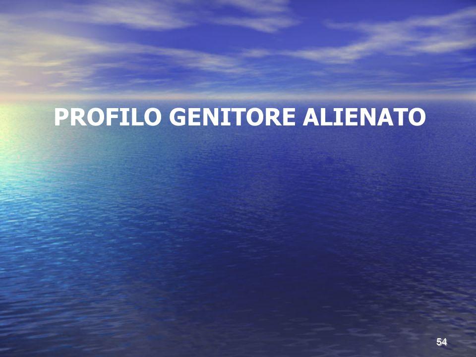 PROFILO GENITORE ALIENATO