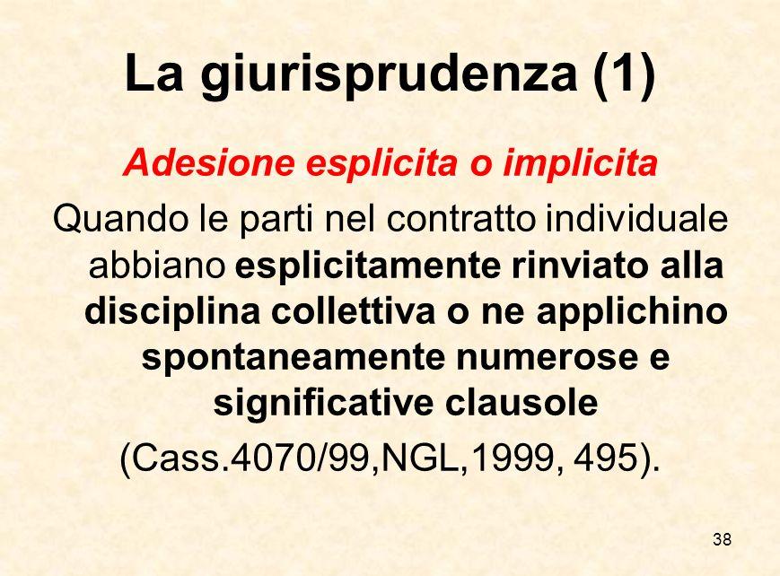 Adesione esplicita o implicita