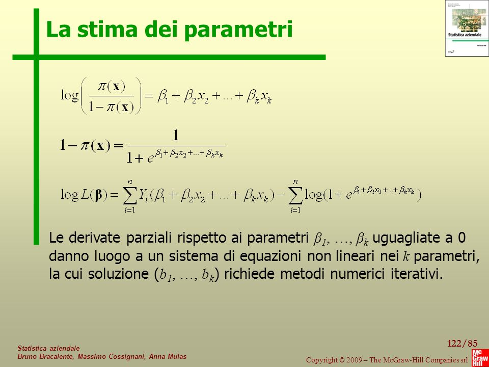 La stima dei parametri