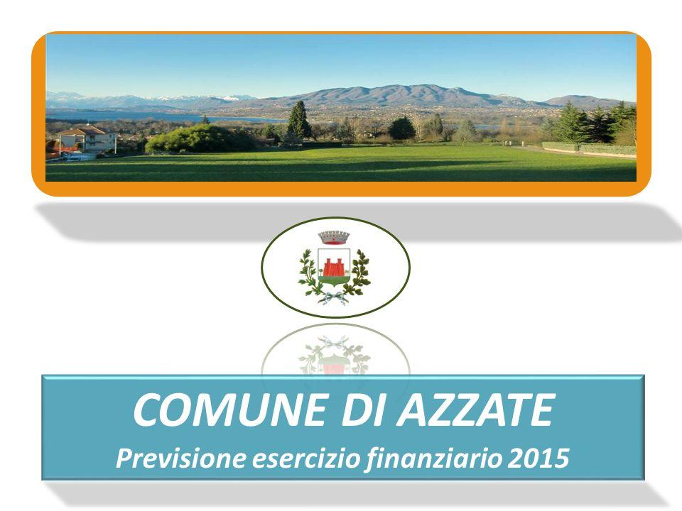 Previsione esercizio finanziario 2015