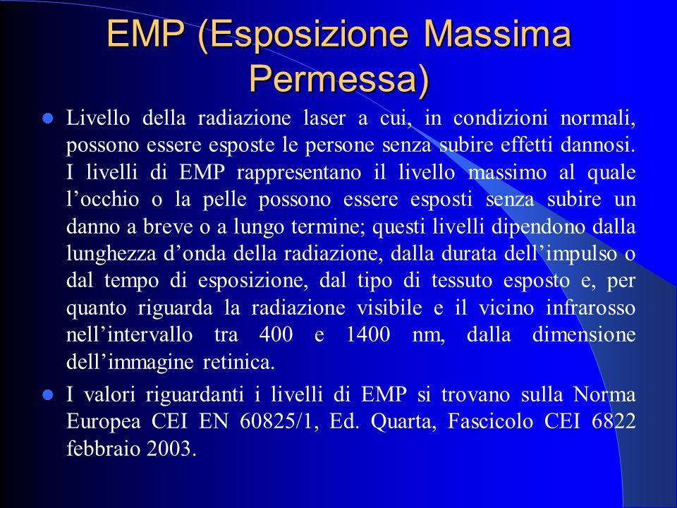EMP (Esposizione Massima Permessa)