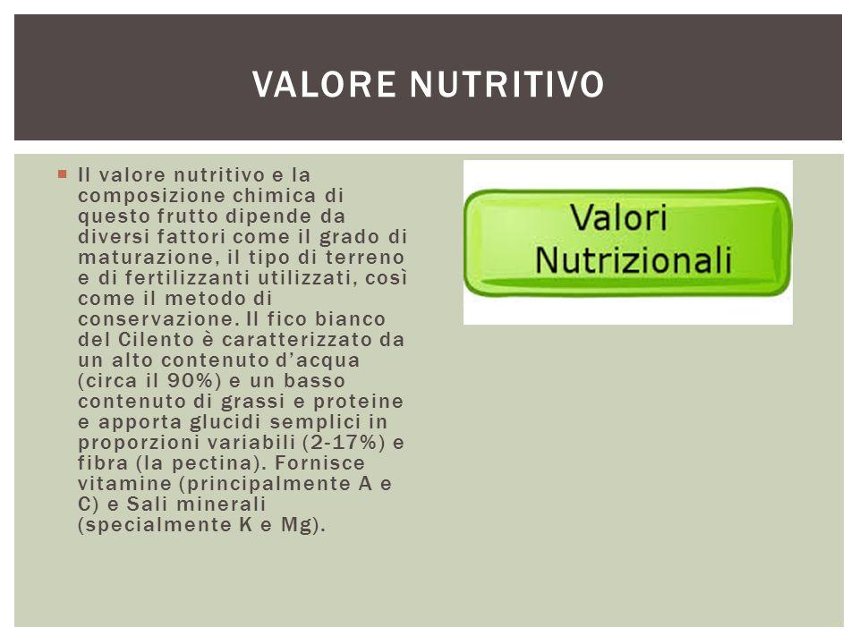 Valore nutritivo