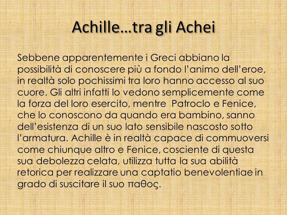 Achille…tra gli Achei
