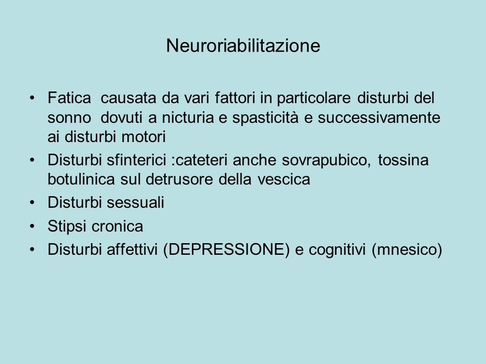 Neuroriabilitazione