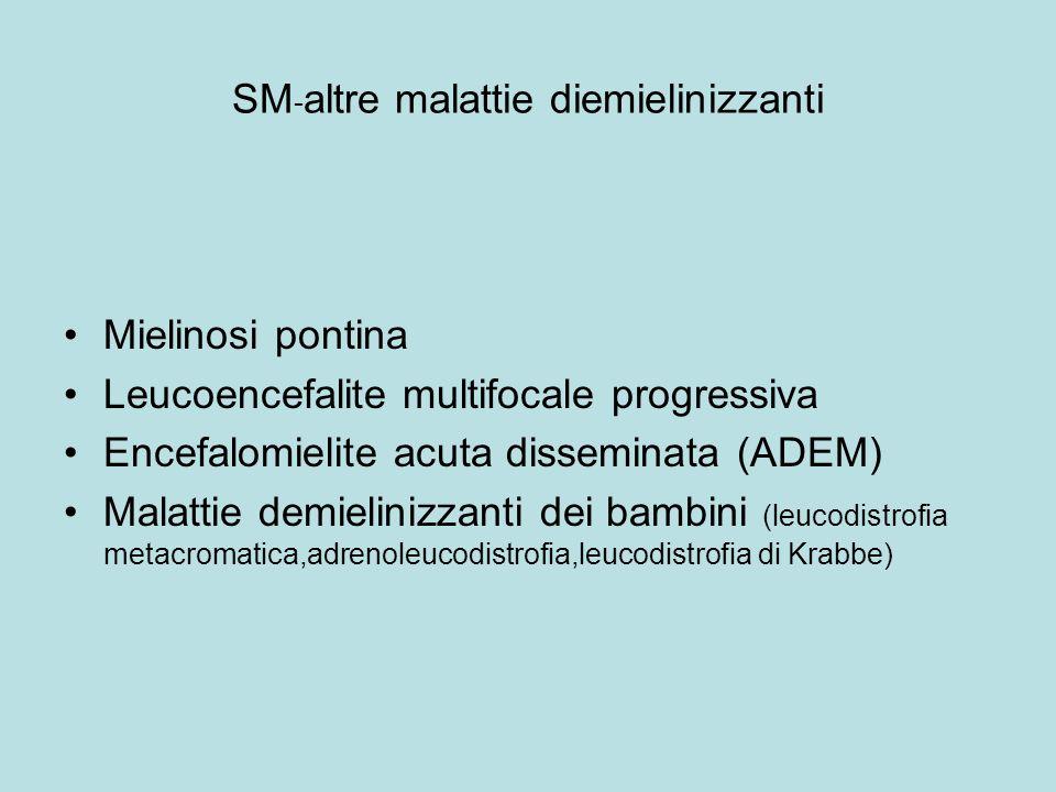 SM-altre malattie diemielinizzanti