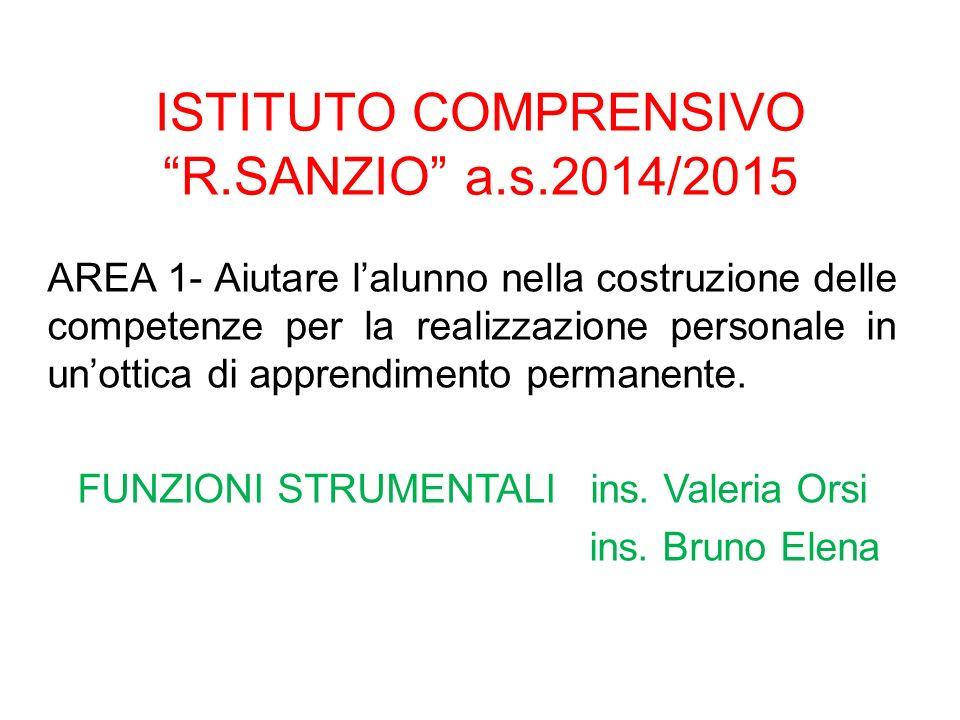 ISTITUTO COMPRENSIVO R.SANZIO a.s.2014/2015