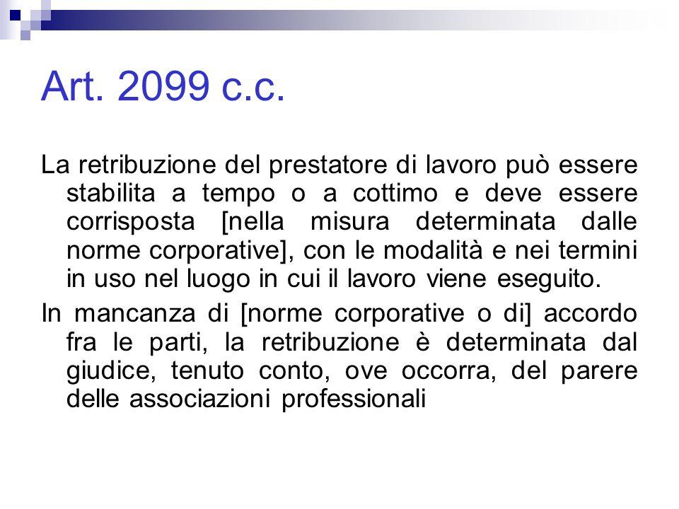 Art. 2099 c.c.