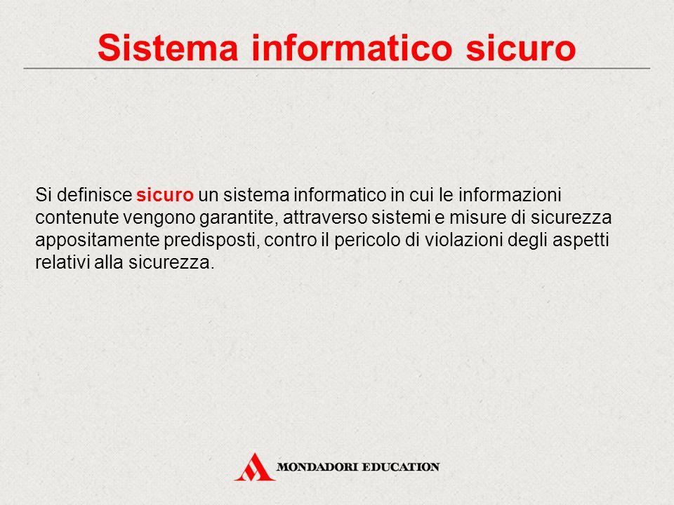 Sistema informatico sicuro
