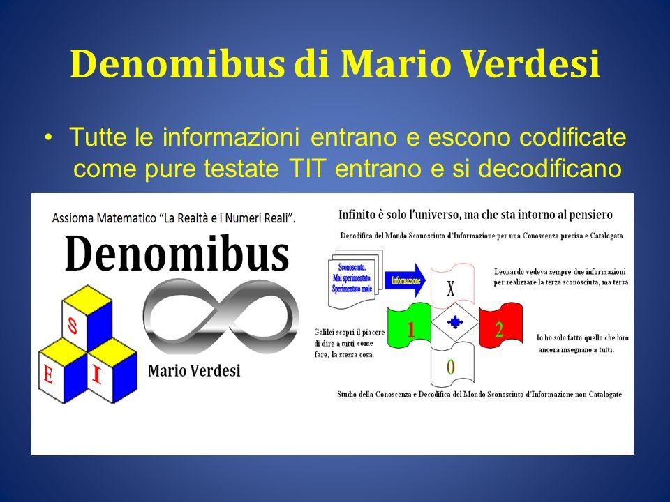 Denomibus di Mario Verdesi
