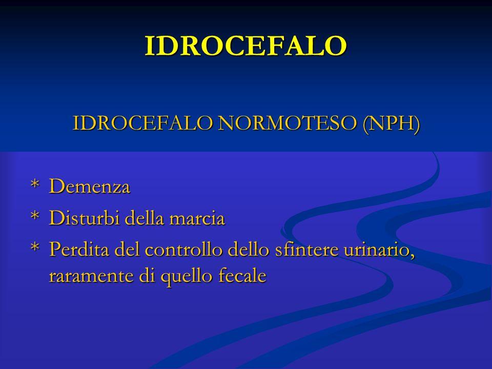 IDROCEFALO NORMOTESO (NPH)