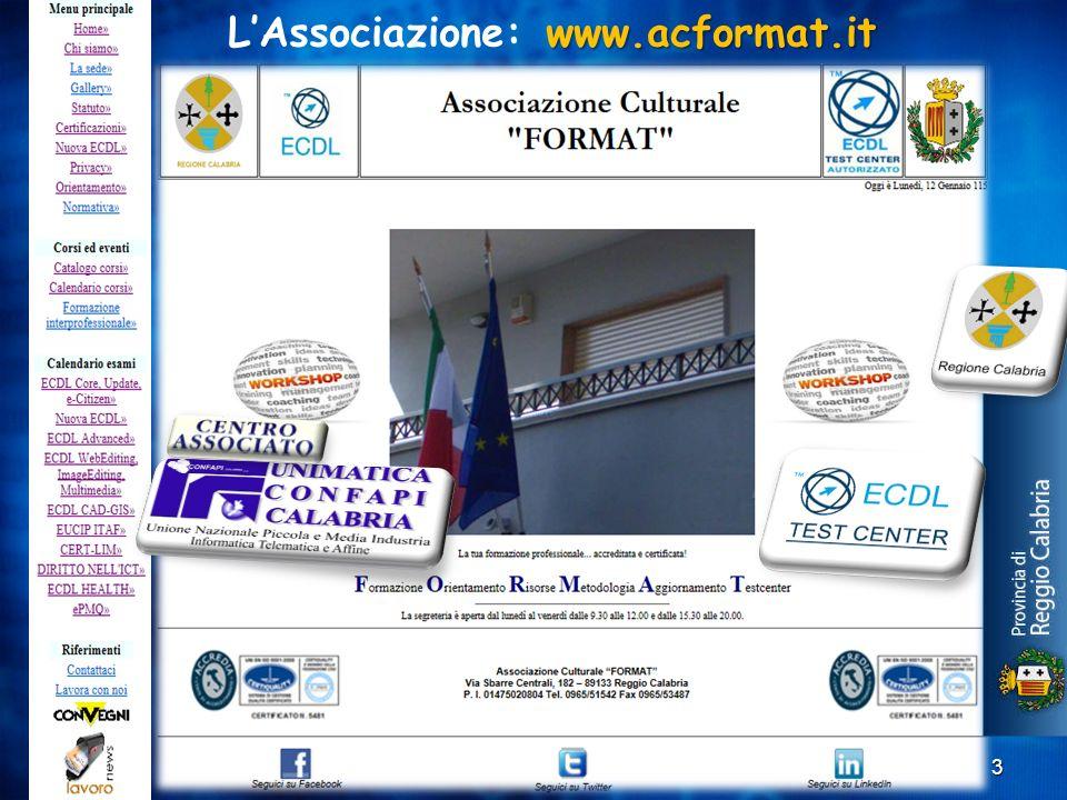 L'Associazione: www.acformat.it