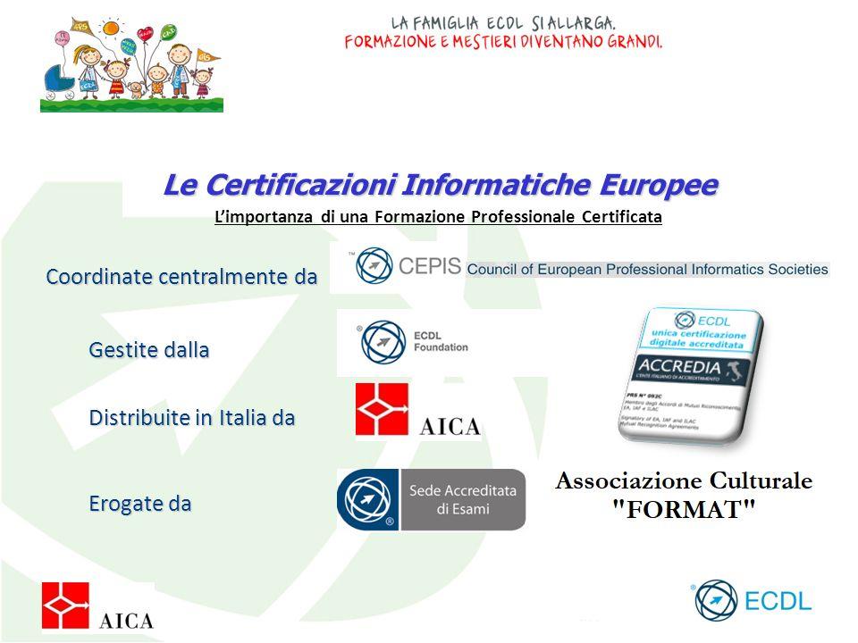 Le Certificazioni Informatiche Europee