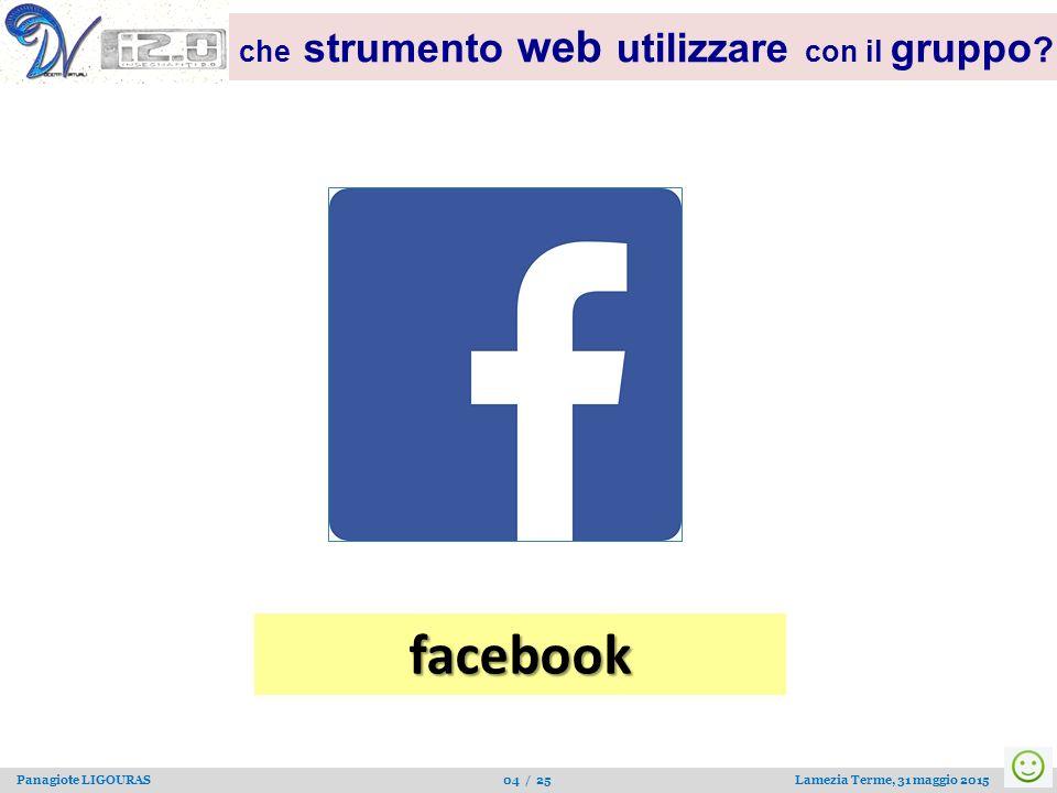 facebook che strumento web utilizzare con il gruppo