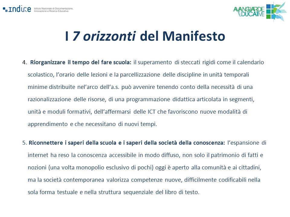 I 7 orizzonti del Manifesto