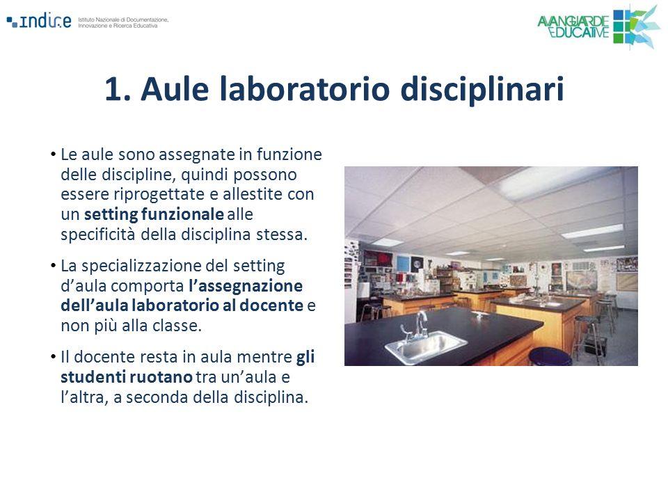 1. Aule laboratorio disciplinari