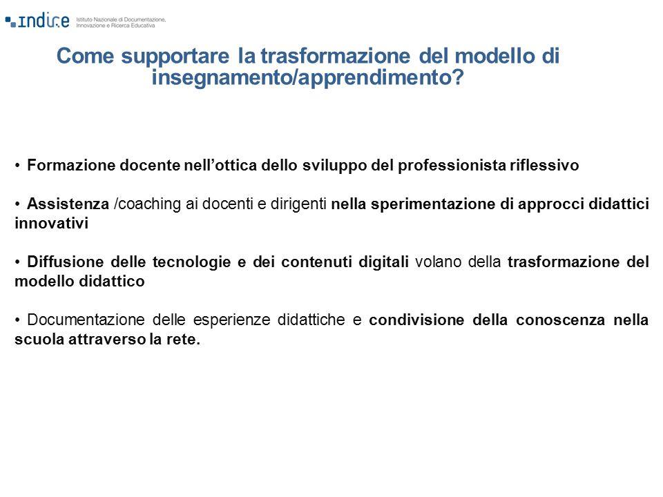 Come supportare la trasformazione del modello di insegnamento/apprendimento
