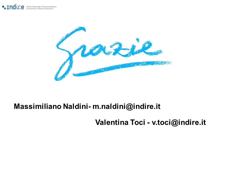 Massimiliano Naldini- m.naldini@indire.it