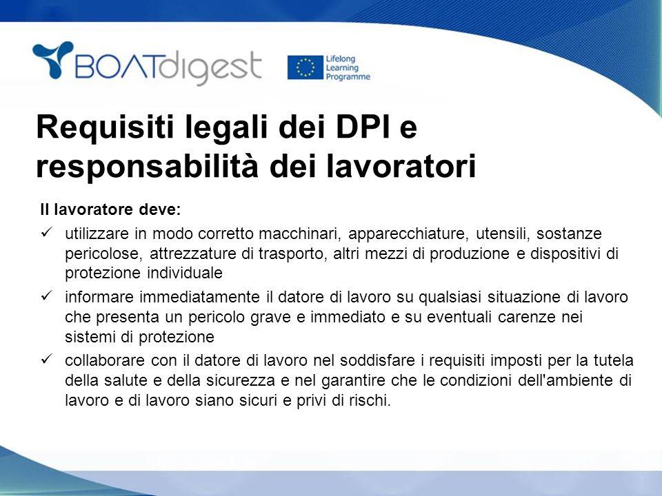 Requisiti legali dei DPI e responsabilità dei lavoratori