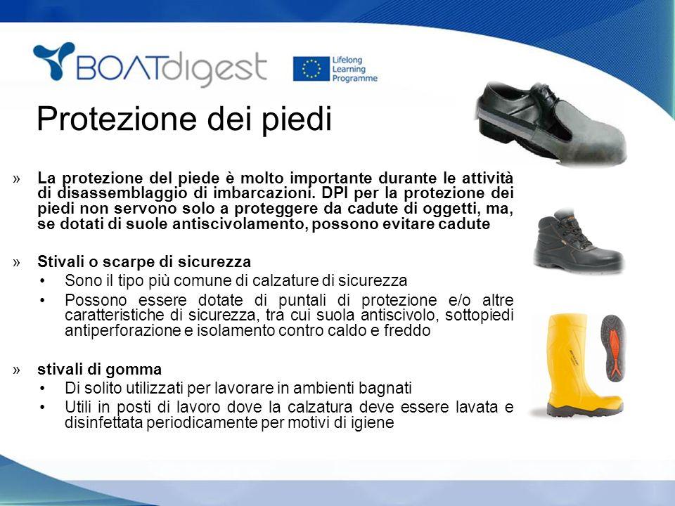 Protezione dei piedi